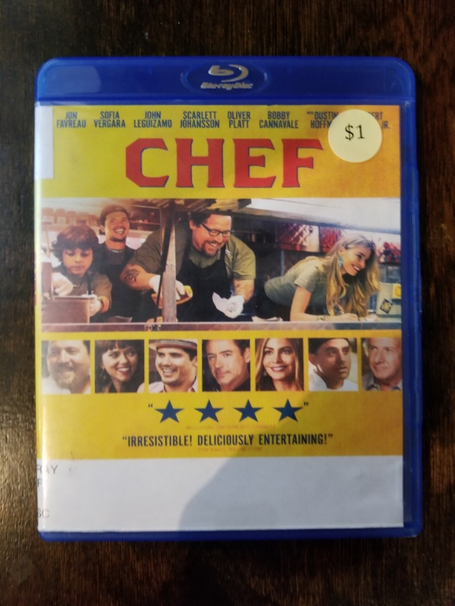 photo of the Blu-ray case for Chef